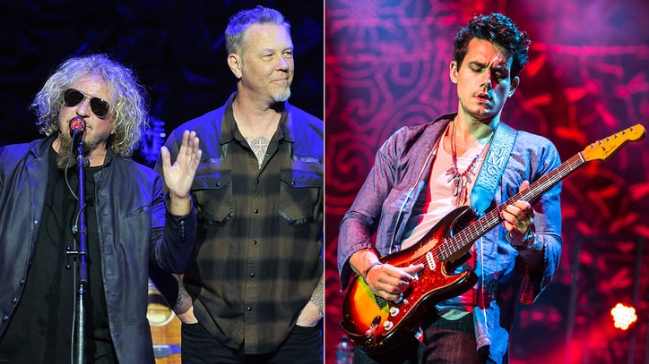 James Hetfield, Sammy Hagar Tap John Mayer, More for Charity Concert