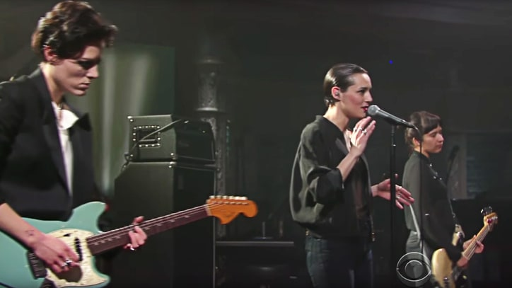 Watch Savages Mesmerize With Dynamic 'Adore' on 'Colbert'