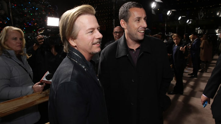 Adam Sandler, David Spade Team for 'Do-Over' Comedy Tour
