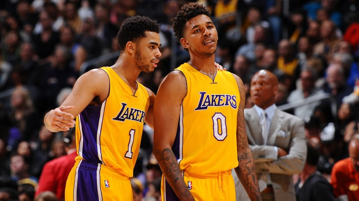D'Angelo Russell, Nick Young and 5 Other Teammates With Trust Issues
