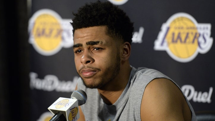 D'Angelo Russell is 'Sick' and 'Sorry' for Leaked Video