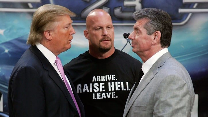 'Stone Cold' Still Can't Believe Donald Trump Took a Stunner