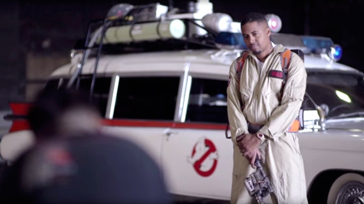 Nas Launches 'Ghostbusters'-Themed Clothing Line