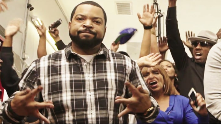 Ice Cube, Common Cut Their Hair, Beef in 'Real People' Video