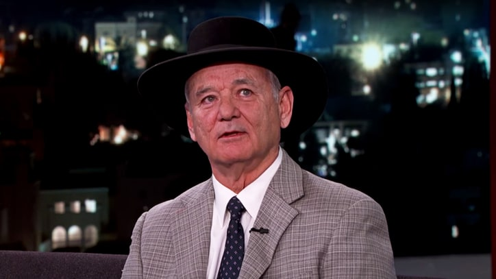 Watch Bill Murray Read Empowering Poetry on 'Kimmel'