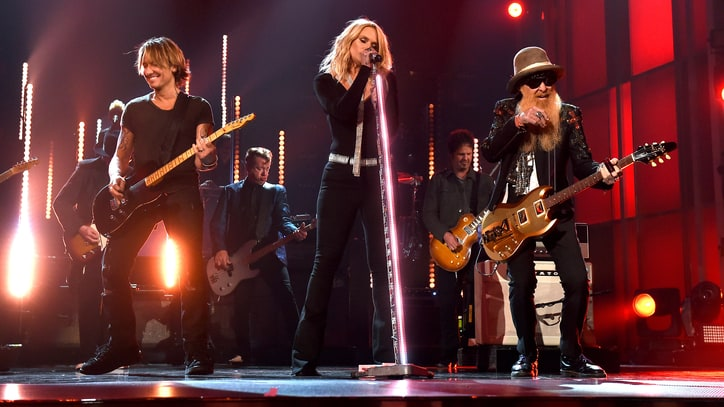 Watch Miranda Lambert, Keith Urban, ZZ Top Look for 'Tush' on ACMs