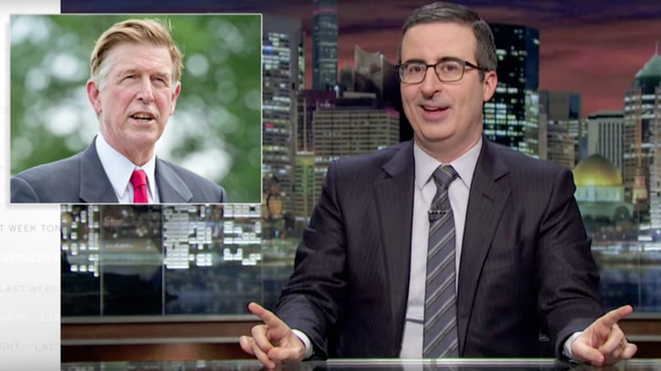 Watch John Oliver Spotlight Ridiculous Congressional Fundraising
