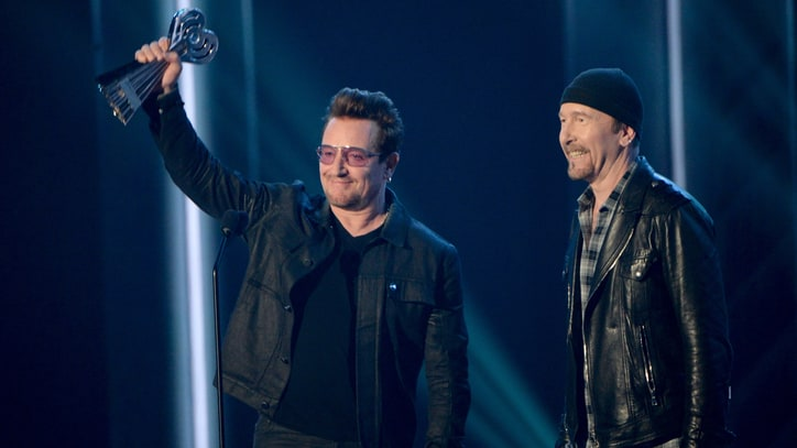 Watch U2's Bono, the Edge Receive iHeartRadio Innovator Award