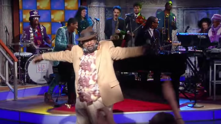 Watch Parliament-Funkadelic Shine 'Flash Light' on 'Late Show'