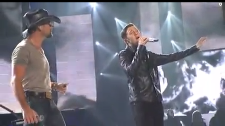 Flashback: Tim McGraw Duets With Scotty McCreery on 'Idol'