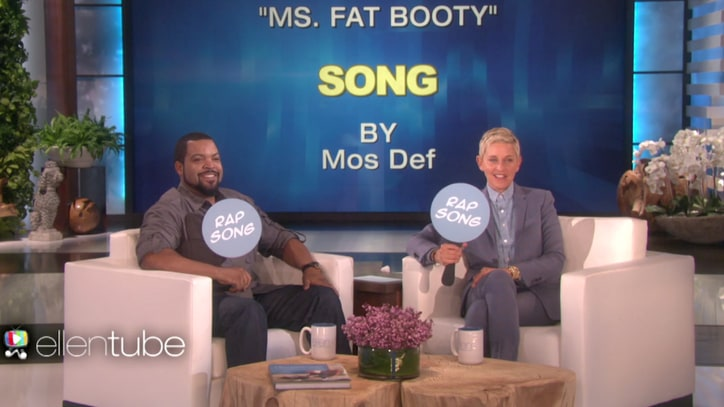 Watch Ice Cube Play 'Rap Song or Wrong Song?' on 'Ellen'