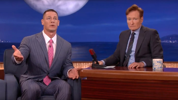 Watch John Cena Teach Conan How to Sing 'John Cena Sucks'