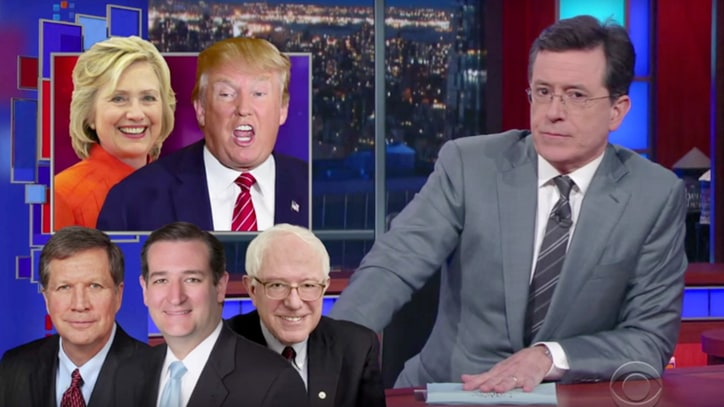 Watch Colbert Create Fake Government Agencies for Trump to Shut Down
