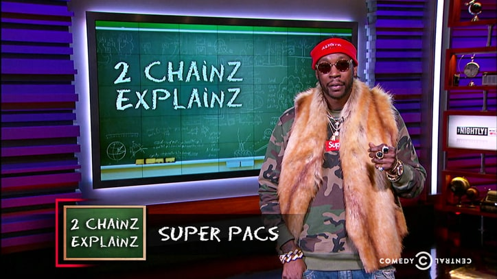 Watch 2 Chainz Break Down Super PACs on 'Larry Wilmore'