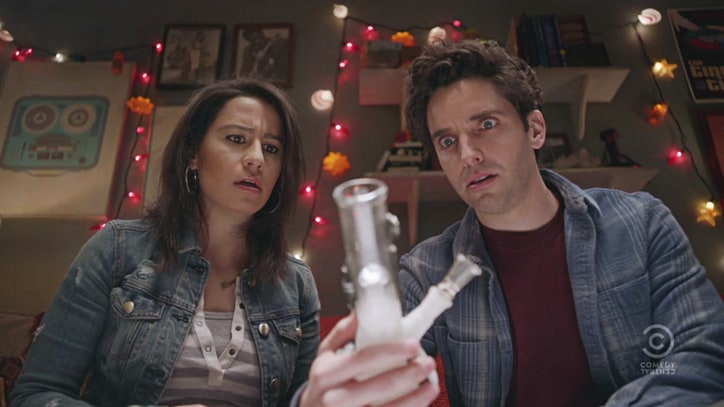 Watch 'Broad City' Stars Rip the 'Time Traveling Bong' in New Trailer