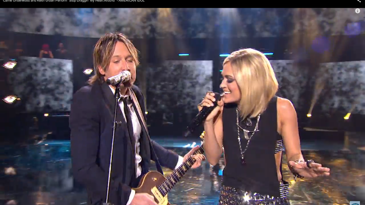 See Carrie Underwood, Keith Urban Duet on 'American Idol'