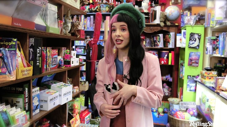 See Melanie Martinez Explore a New York City Toy Store