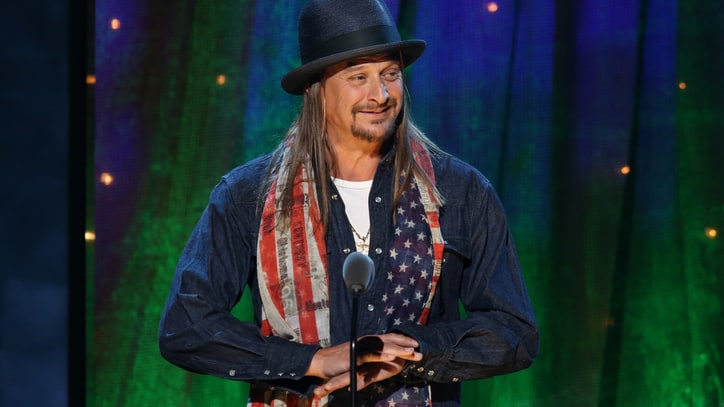 Read Kid Rock's Irreverent Cheap Trick Rock Hall Induction Speech