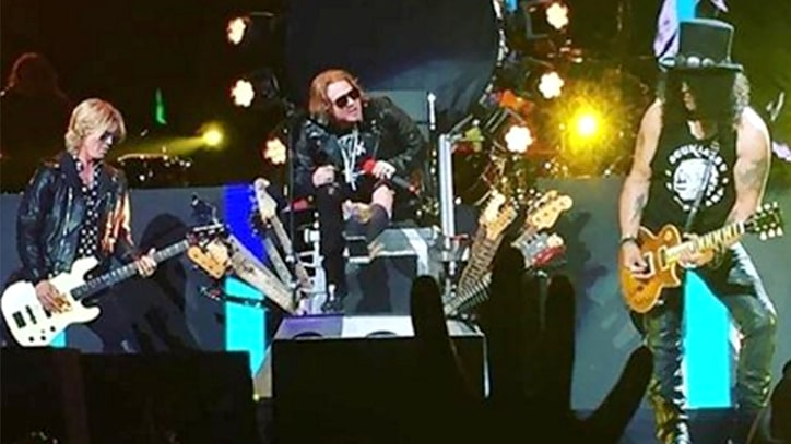 Guns N' Roses Roar Back With Epic Las Vegas Reunion Show