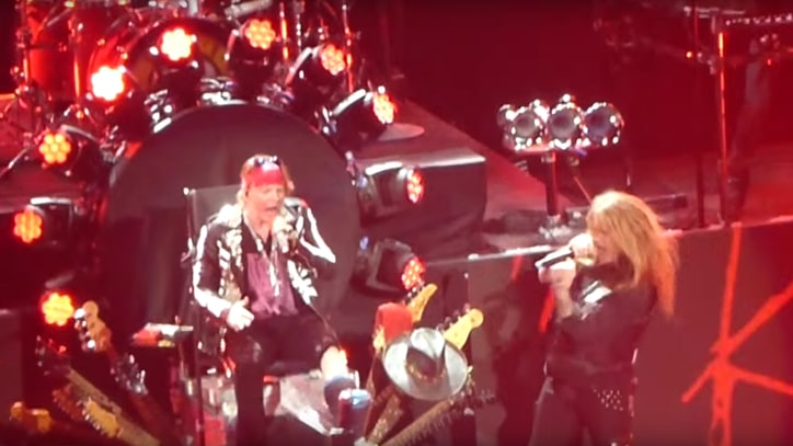See Guns N' Roses, Sebastian Bach Perform 'My Michelle' in Las Vegas