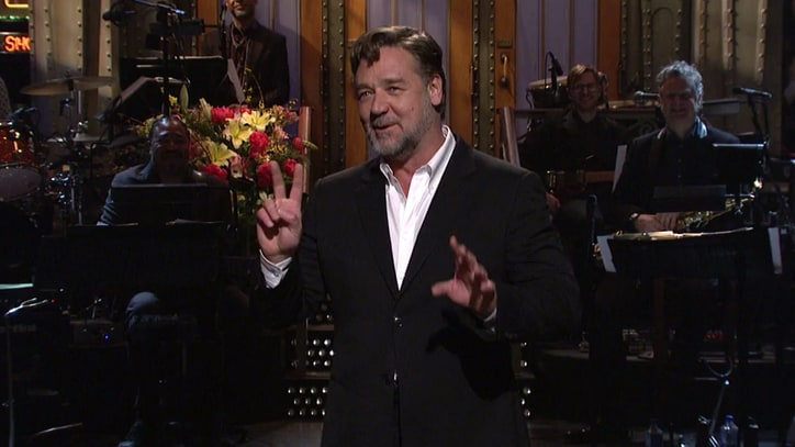 Russell Crowe on 'SNL': 3 Sketches You Have to See
