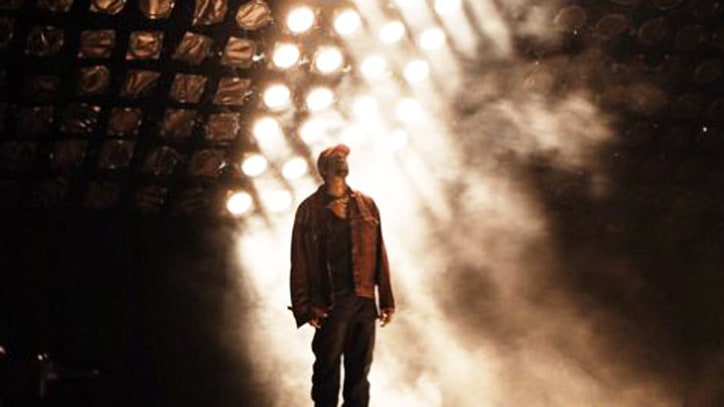 Watch Kanye West Debut Auto-Tuned Track, Perform 'Pop Style' Live