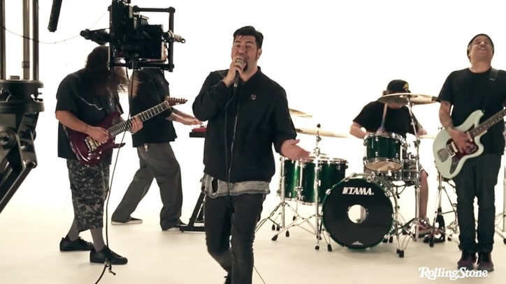 Go Behind the Scenes of Deftones' 'Prayers/Triangles' Music Video