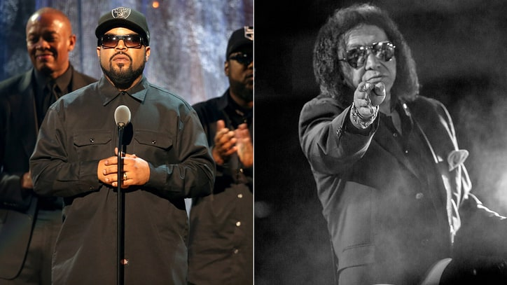 Ice Cube, Gene Simmons Spar Over Rock Hall's Rap Inductions