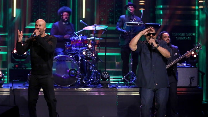 See Ice Cube, Common, Roots Team for 'Real People' on 'Fallon'
