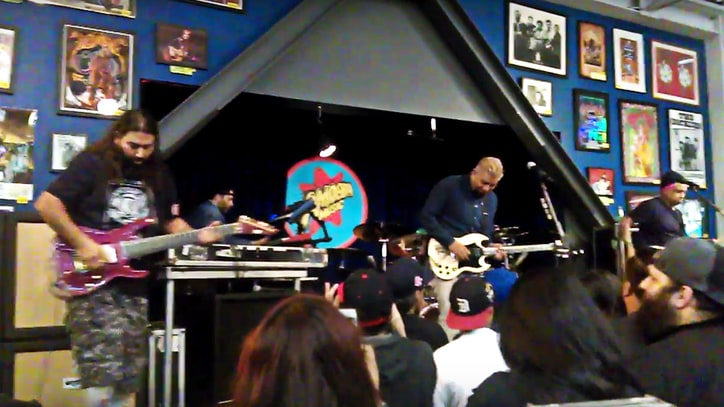 Watch Deftones Debut 'Gore' Tracks at Small Amoeba Music Gig