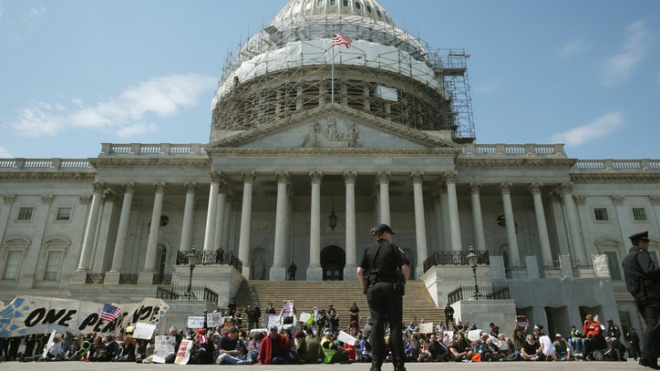 Why Thousands of Americans Are Lining Up to Get Arrested in D.C. This Week