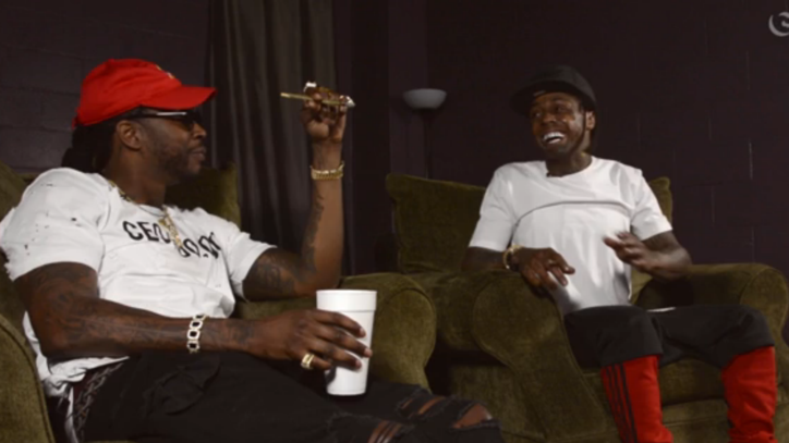 Lil Wayne Talks On-the-Fly Guitar Lesson From Willie Nelson