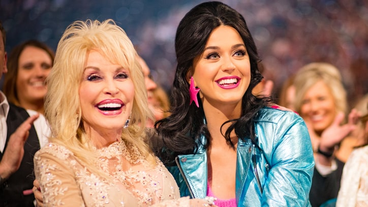 Dolly Parton on Katy Perry: 'I Met a Girl and I Liked Her'