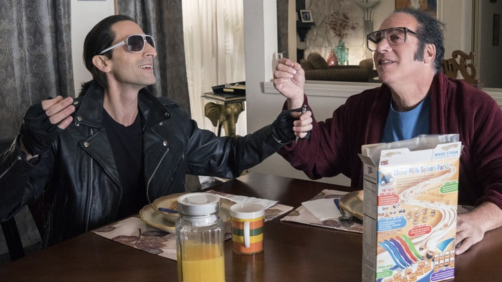 Adrien Brody on Becoming Andrew Dice Clay on 'Dice'