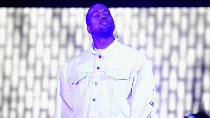 See Kanye West Crash A$AP Rocky's Coachella Set