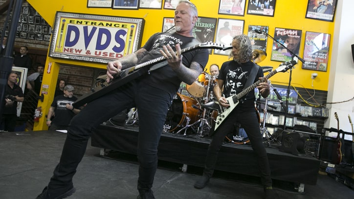 Record Store Day 2016: See Photos of Metallica, Mumford & Sons and More