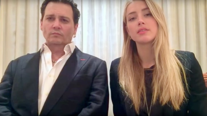Watch Johnny Depp, Amber Heard Apologize for Illegal Dog Incident