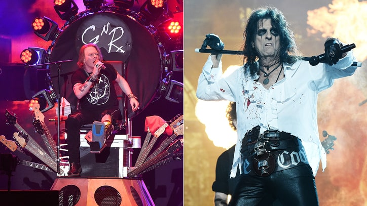 Alice Cooper on Axl Rose Joining AC/DC: 'That Might Just Work'