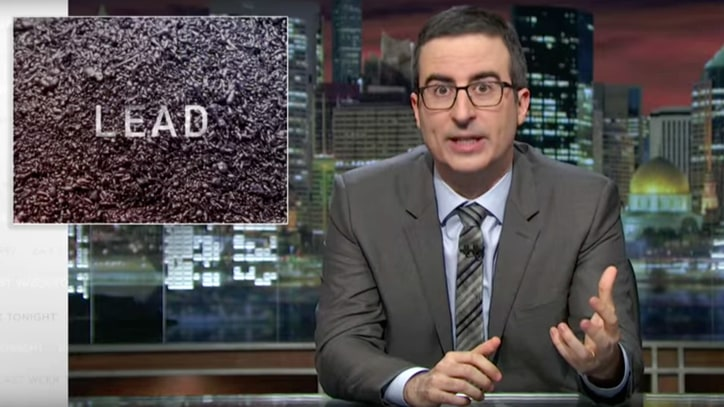 Watch John Oliver, 'Sesame Street' Sing About Lead Poisoning