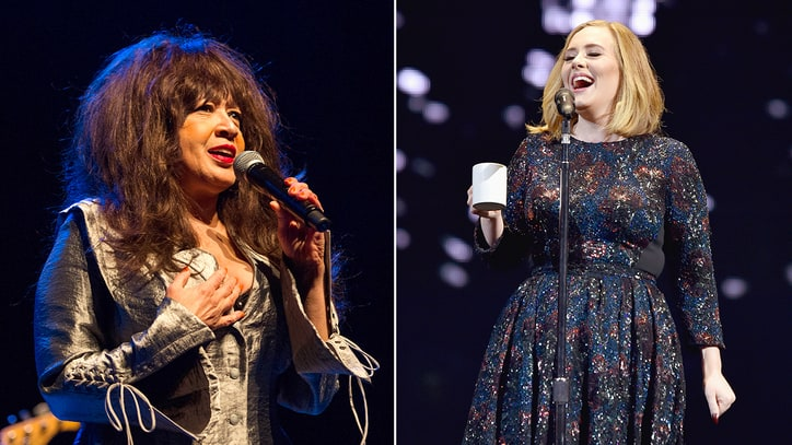 Ronnie Spector on Why She Loves Adele: 'She's Like Me'