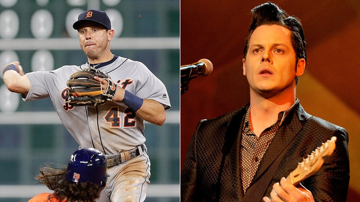 Ian Kinsler on Going to Bat With Jack White: 'It's Been Pretty Random'