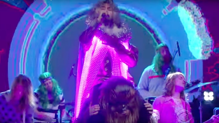 See Flaming Lips' Mesmerizing 'Space Oddity' on 'Colbert'