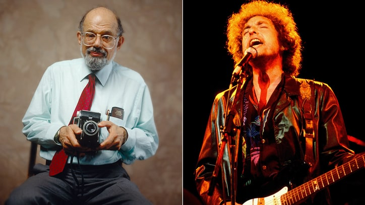 Hear Bob Dylan Back Allen Ginsberg on Lost 1982 Track