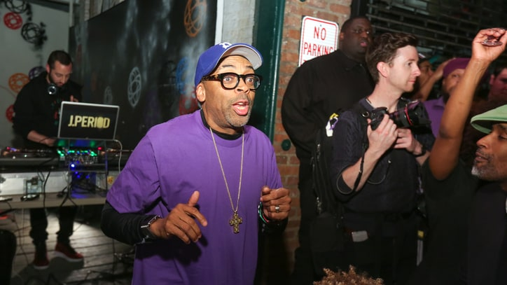 Spike Lee Honors Prince at Cathartic Brooklyn Block Party