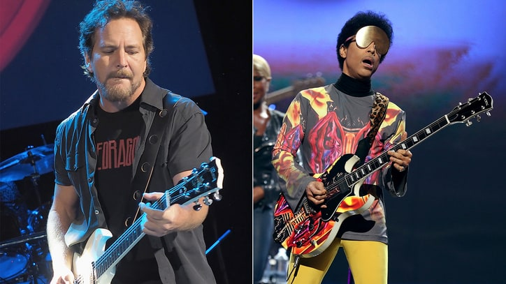 Pearl Jam on Prince: 'Greatest Guitar Player We've Ever Seen'