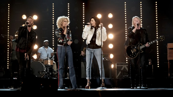 See Little Big Town's Hypnotic Prince Tribute