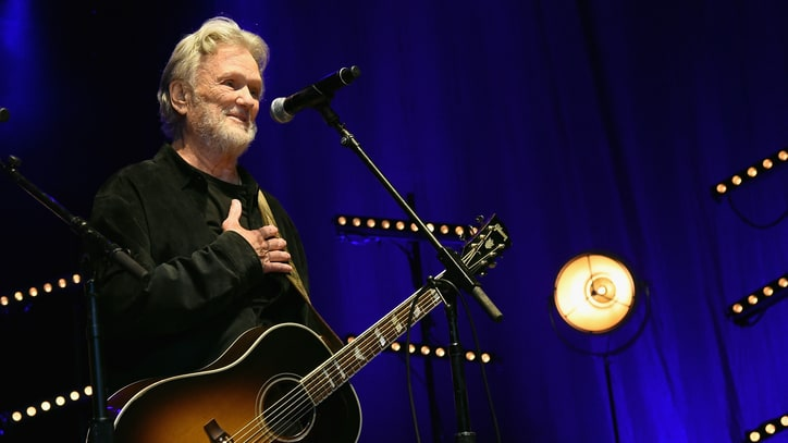 Kris Kristofferson Readies New 'Cedar Creek Sessions' Double Album