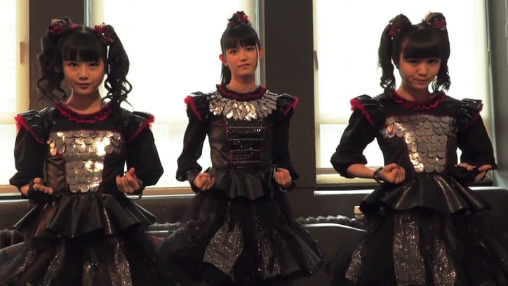 Watch Babymetal Show 'Karate' Dance Moves, Talk Song's Empowering Message