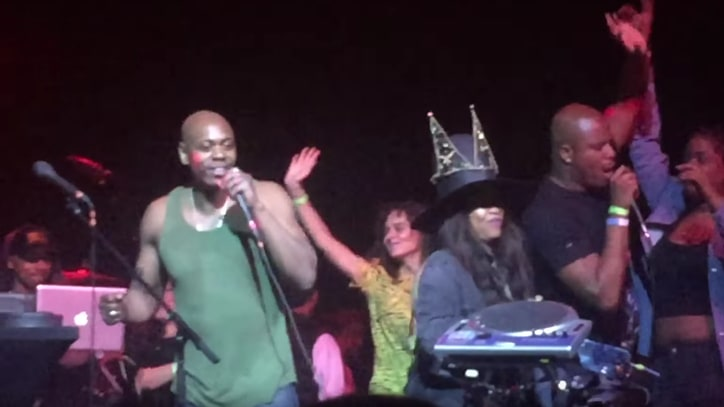 Watch Dave Chappelle Sing Radiohead's 'Creep' at Erykah Badu's Party