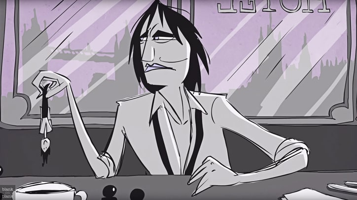 See Cartoon Patti Smith Talk Censorship: 'Government Doesn't Know S--t'
